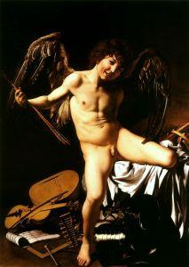 Caravaggio, Amor Vincit Omnia - Staatliche Museen di Berlino.