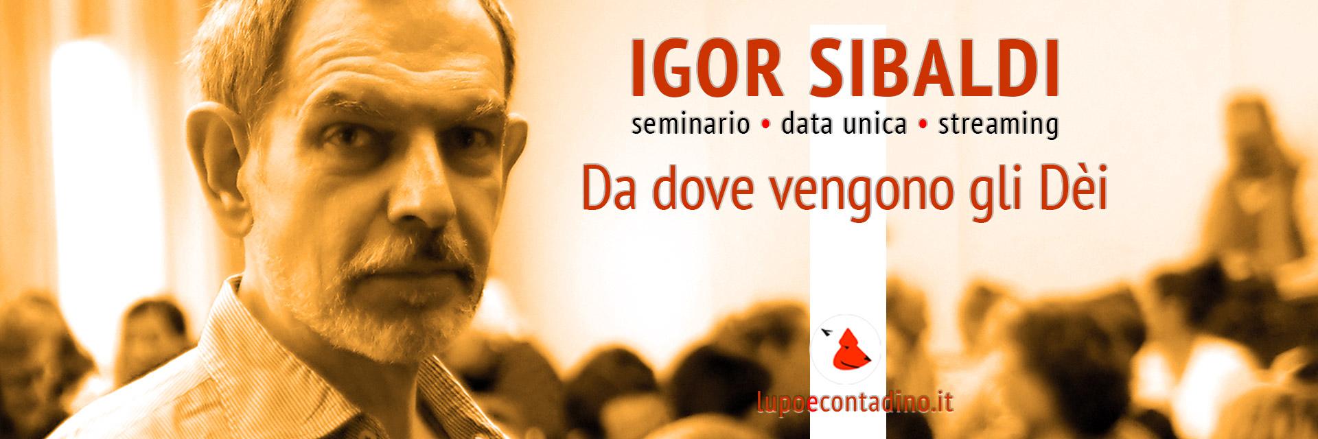Igor Sibaldi - Seminario 27 settembre